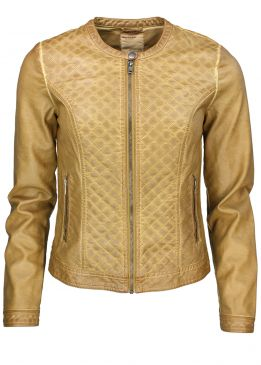 Broadway NYC Jacke Lederlook
