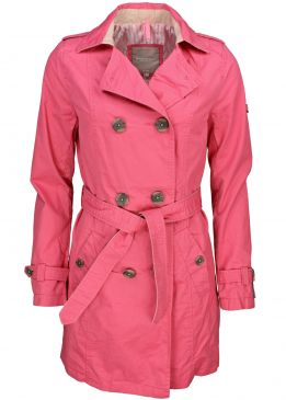 Broadway NYC Trenchcoat Berry Sorbet