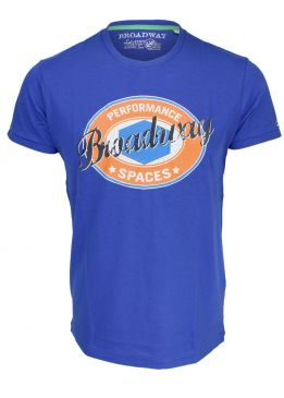 Broadway NYC T-Shirt colo blue