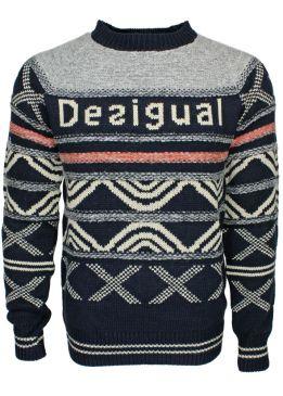 große Vielfalt Stile populärer Stil neue Liste Desigual Pullover Jers Take - fettebeute Online Shop
