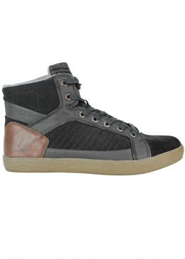 Petrol Industries High Top Sneakers Black