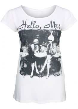 Rich & Royal T-Shirt Hello Mrs