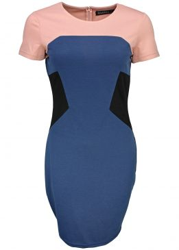 Sugarhill Boutique Holly Panelled Dress
