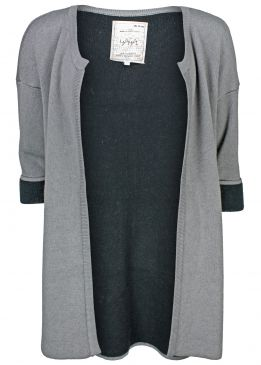 Yaya Two Tone Cardigan