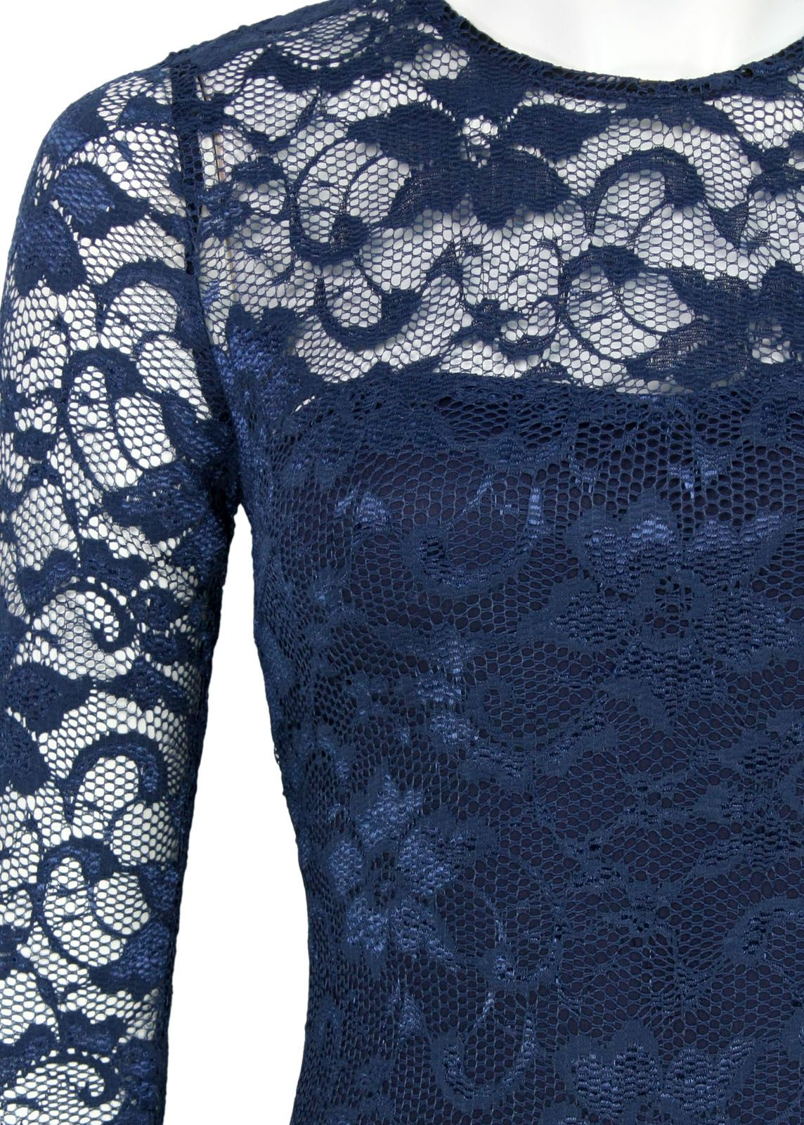 AX Paris Spitzenkleid Blau - fettebeute Online Shop