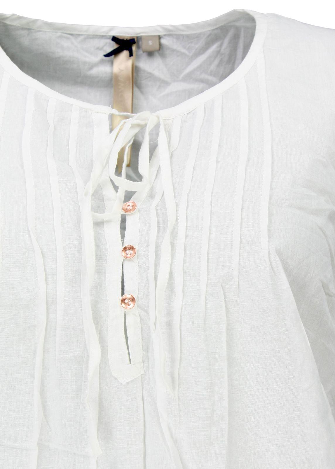 Super günstig New York auf Füßen Bilder von Broadway NYC Bluse Weiß - fettebeute Online Shop