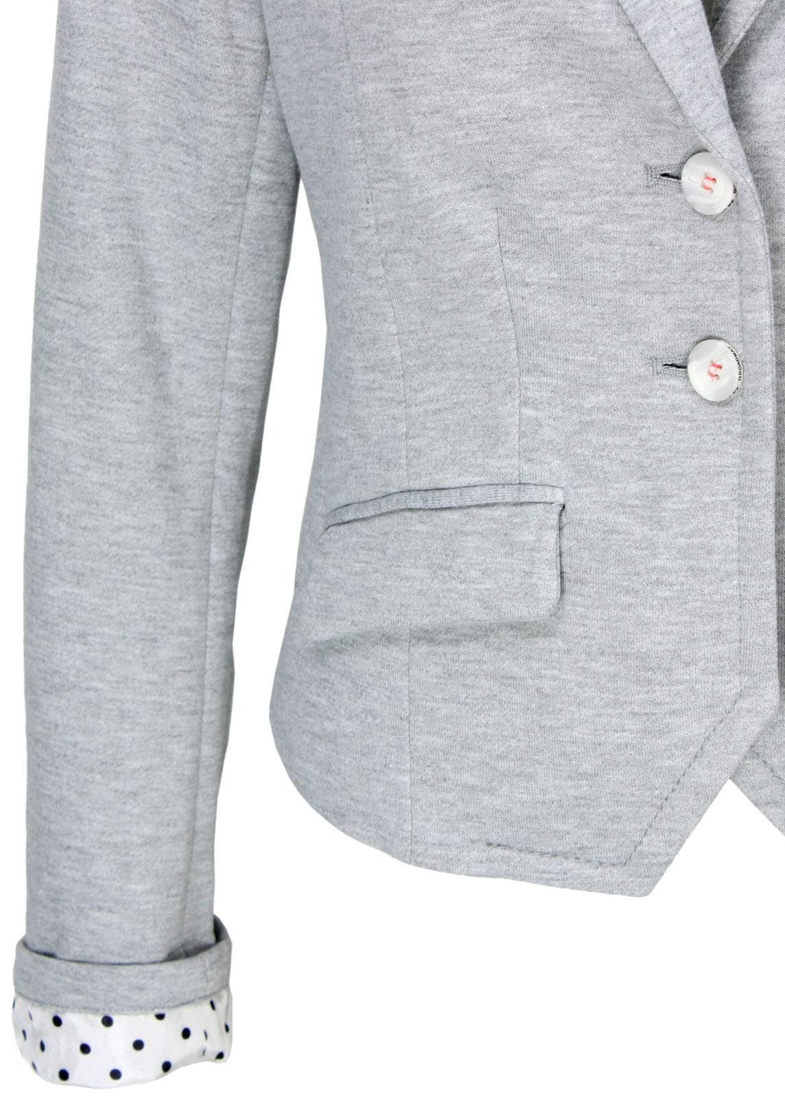 broadway nyc sweat blazer grau fettebeute online shop. Black Bedroom Furniture Sets. Home Design Ideas