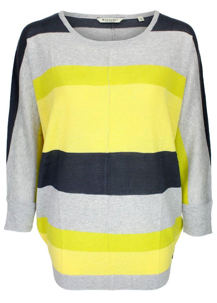 Neuankömmling f06a7 1170a oversize pullover damen gelb