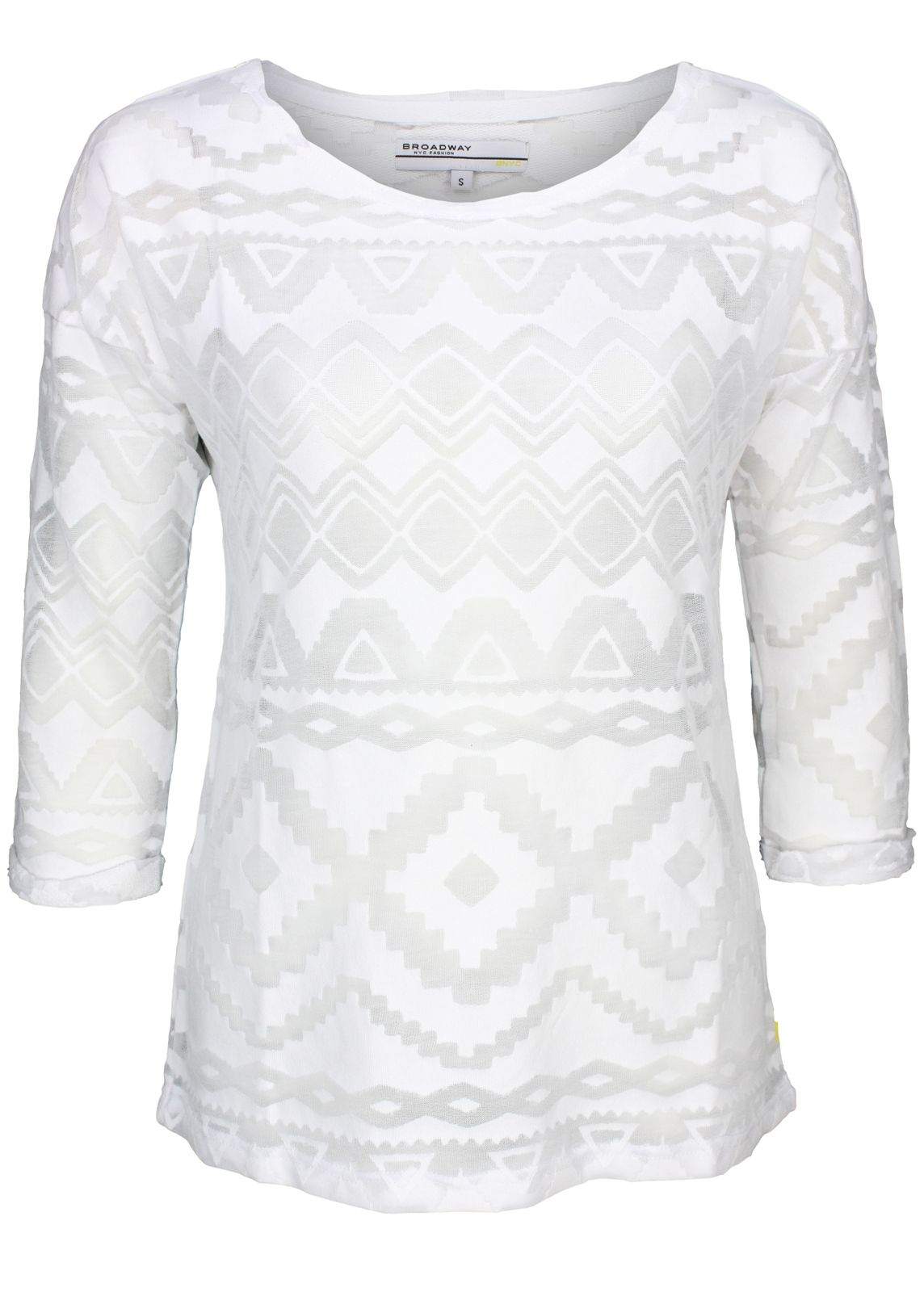 sports shoes effc7 ee9ee Broadway NYC Pullover Sweatshirt weiß - fettebeute Online Shop
