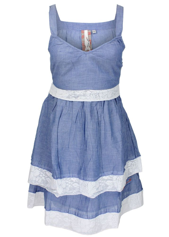 broadway nyc kleid mit spitze blau fettebeute online shop. Black Bedroom Furniture Sets. Home Design Ideas
