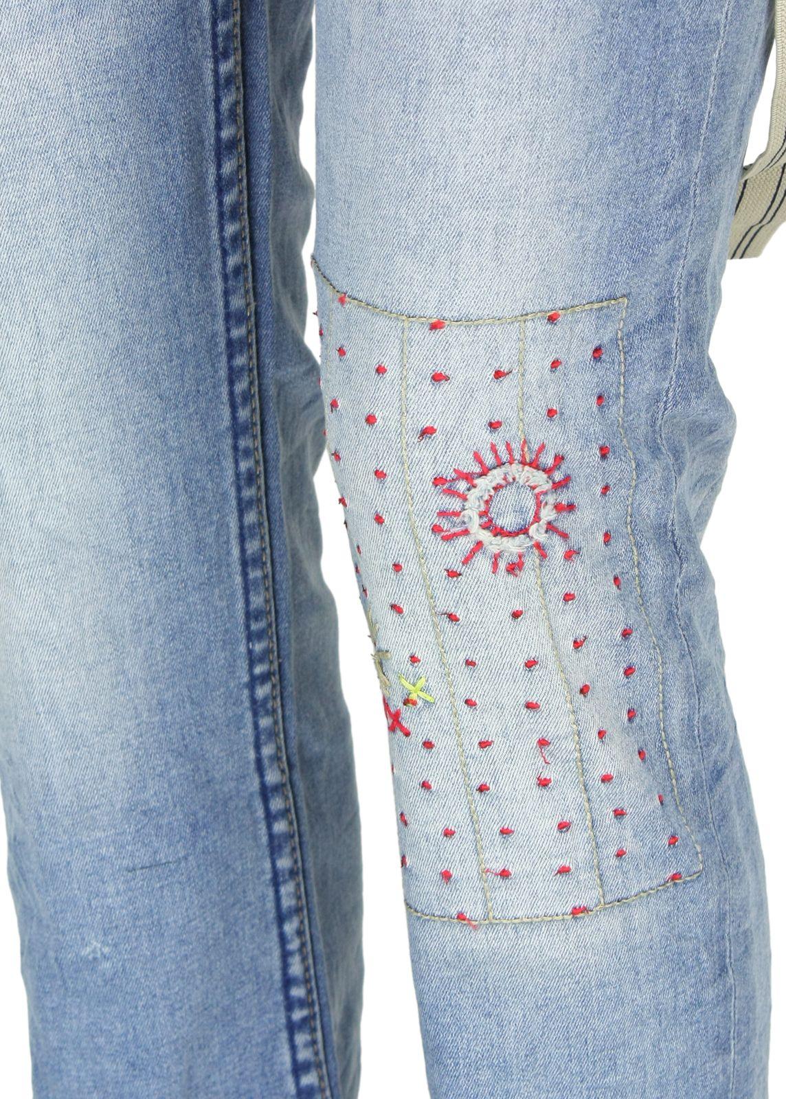 Desigual Jeans Flor fettebeute Online Shop