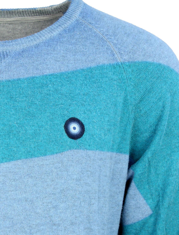 Top Marken klare Textur online zum Verkauf Desigual Pullover Semi Nautical Blue - fettebeute Online Shop