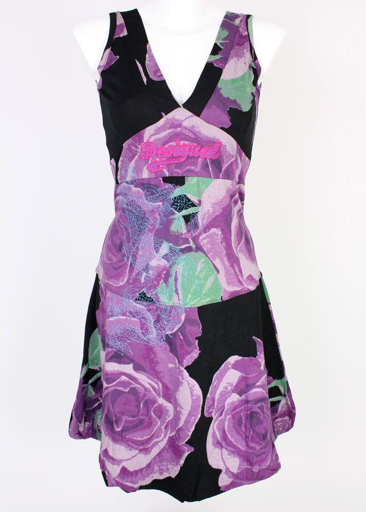 fettebeute shop desigual rosas negro online bestellen. Black Bedroom Furniture Sets. Home Design Ideas