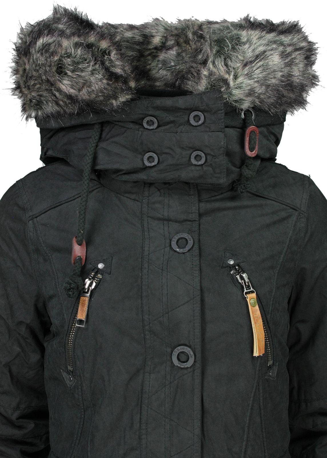 khujo Winterjacke Camilla IJ black fettebeute Online Shop