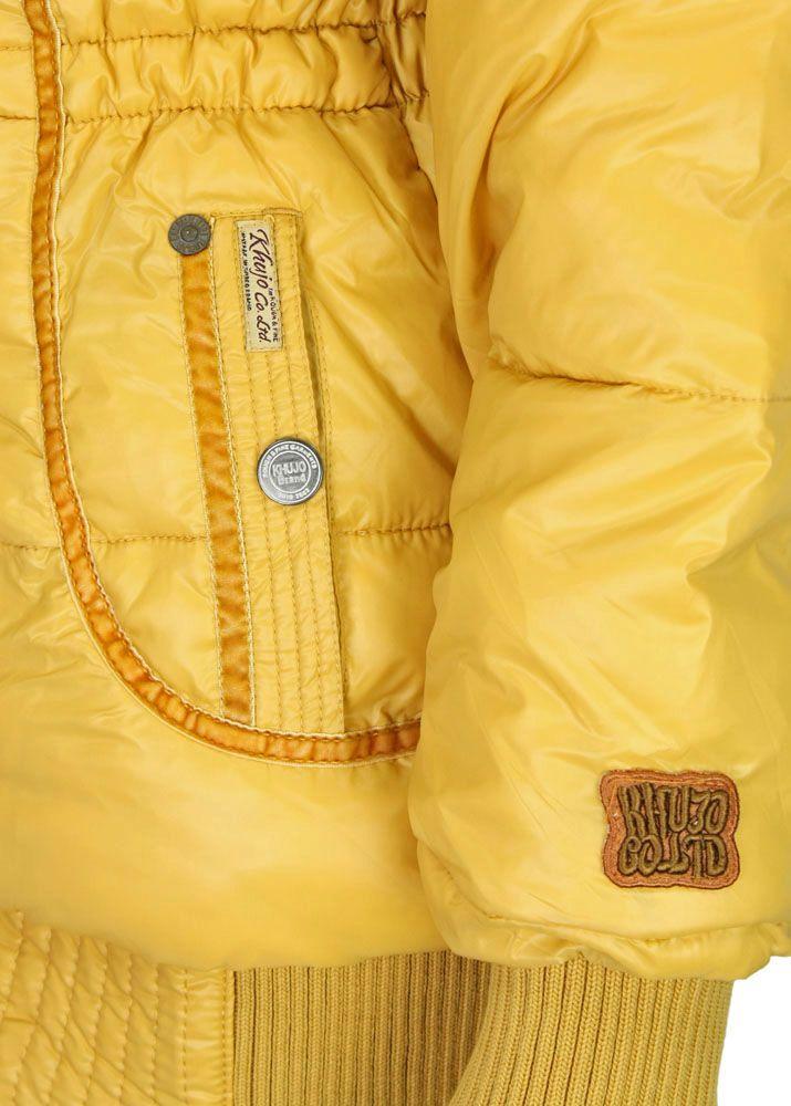 khujo Winterjacke Iff Yellow fettebeute Online Shop