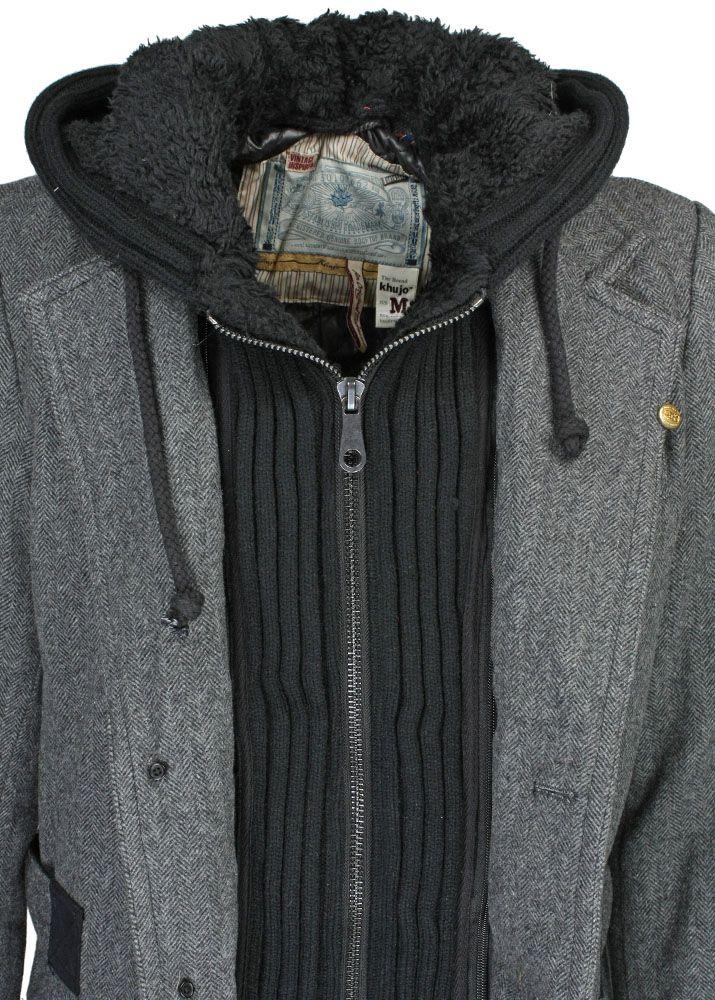khujo Wintermantel Bros fettebeute Online Shop