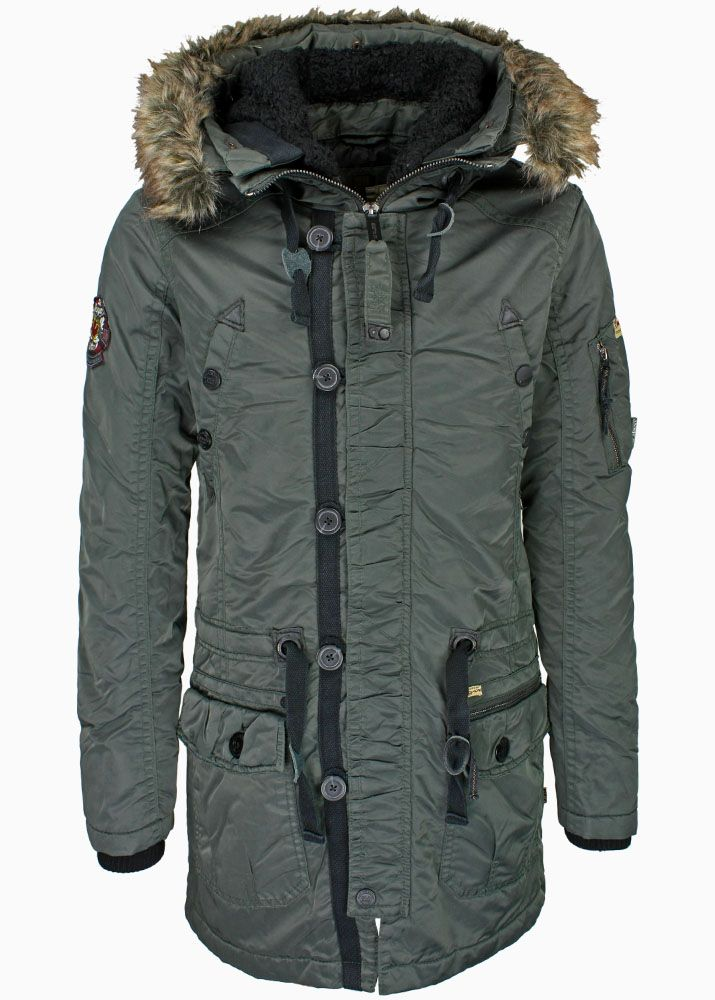 khujo herren winter jacke parka patrick neu ebay. Black Bedroom Furniture Sets. Home Design Ideas