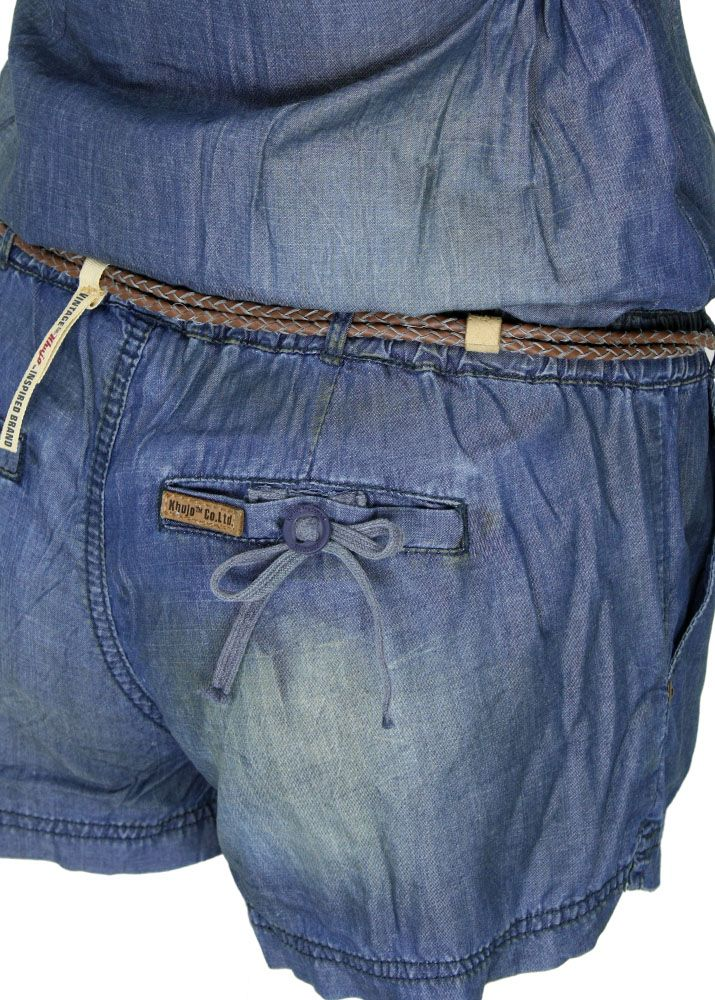 khujo jumpsuit tanja ii jeans fettebeute online shop. Black Bedroom Furniture Sets. Home Design Ideas