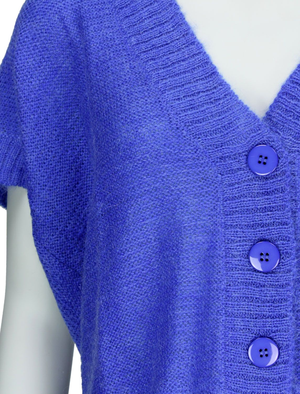 lavand strickjacke blau fettebeute online shop. Black Bedroom Furniture Sets. Home Design Ideas