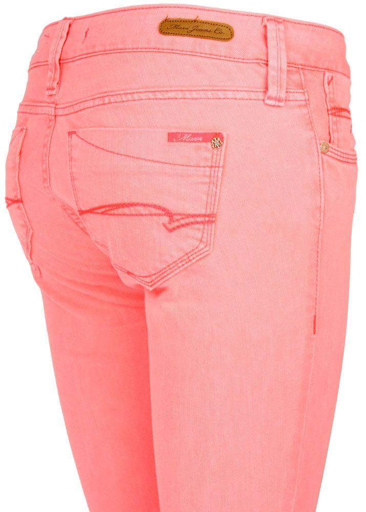 neon jeans damen