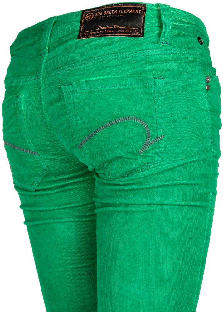 one green elephant cordhose kosai cord green dd fettebeute online shop. Black Bedroom Furniture Sets. Home Design Ideas