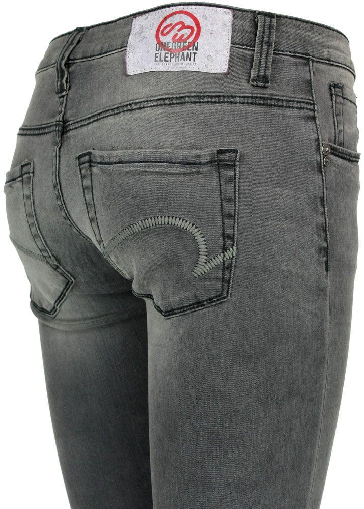 one green elephant damen jeans kosai grau neu ebay. Black Bedroom Furniture Sets. Home Design Ideas