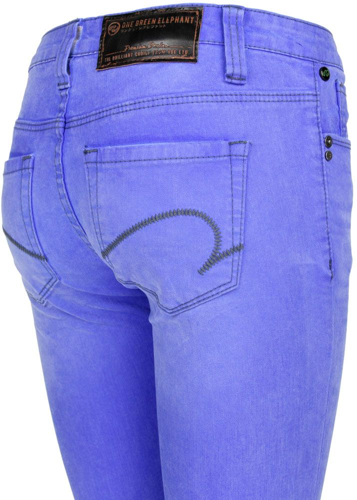 One Green Elephant Jeans Kosai Neon Blue fettebeute Online