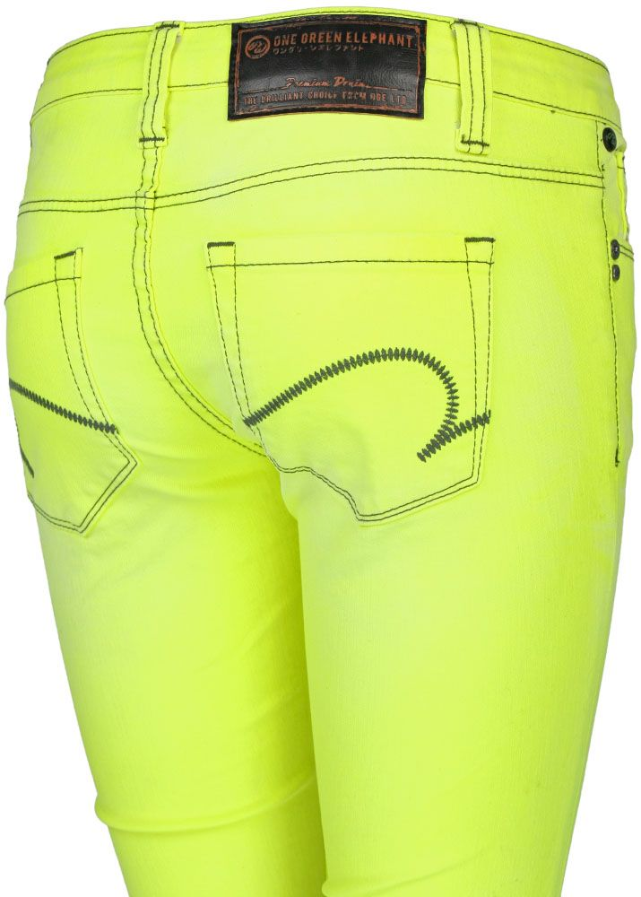 one green elephant jeans kosai mustard double dye 2960 4. Black Bedroom Furniture Sets. Home Design Ideas