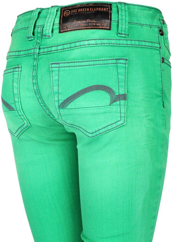 one green elephant jeans memphis glass green fettebeute. Black Bedroom Furniture Sets. Home Design Ideas