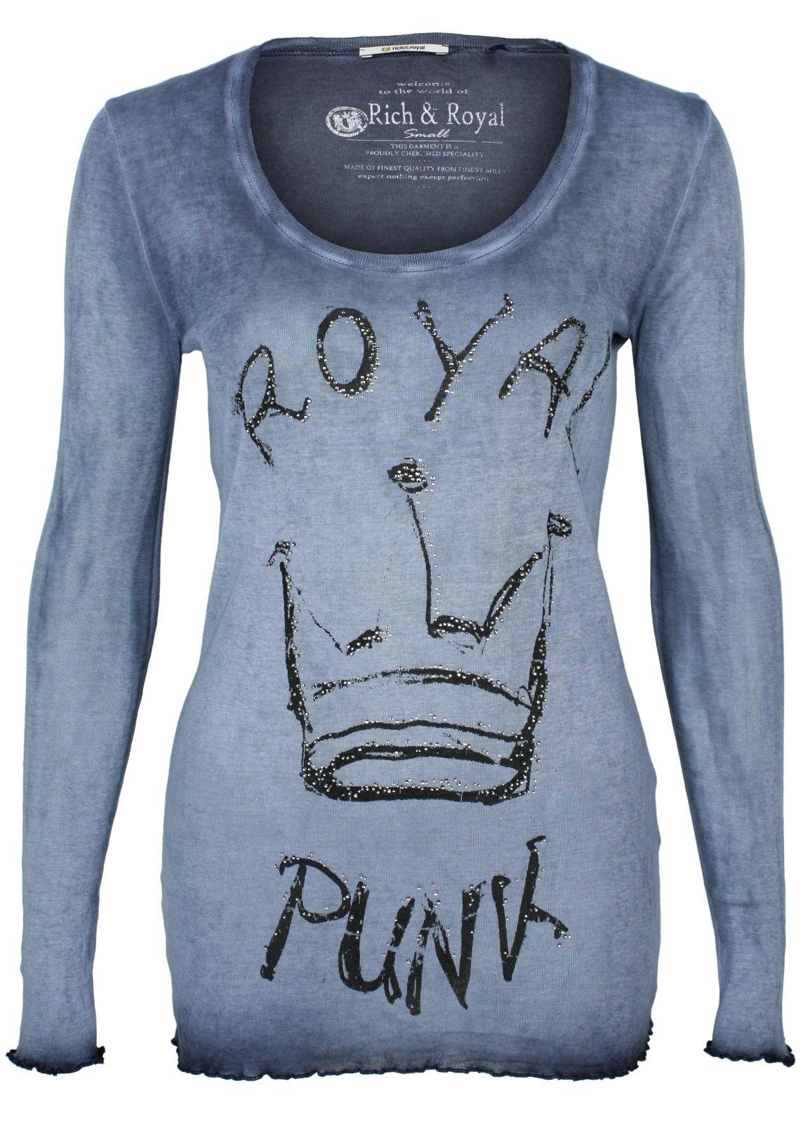 rich royal longsleeve royal punk fettebeute online shop. Black Bedroom Furniture Sets. Home Design Ideas