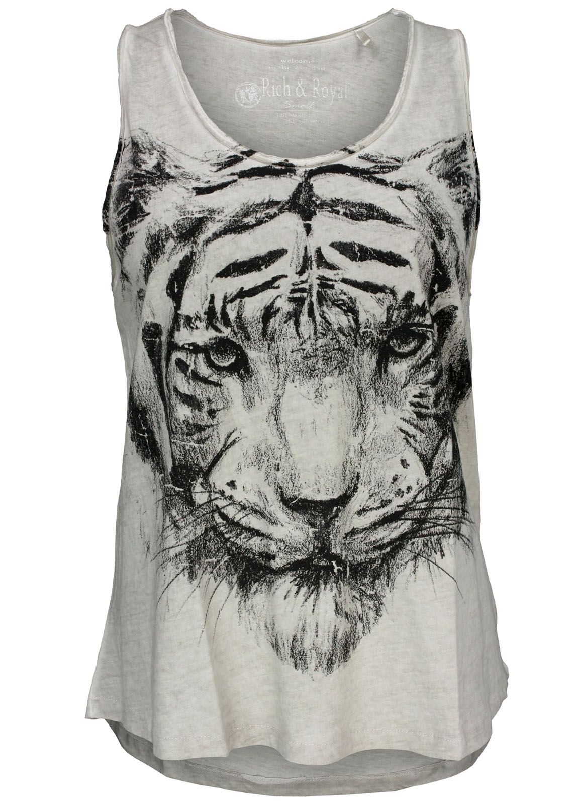 rich royal tanktop tiger top fettebeute online shop. Black Bedroom Furniture Sets. Home Design Ideas