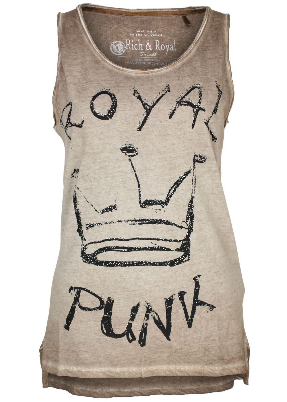 rich royal tanktop top royal punk fettebeute online shop. Black Bedroom Furniture Sets. Home Design Ideas