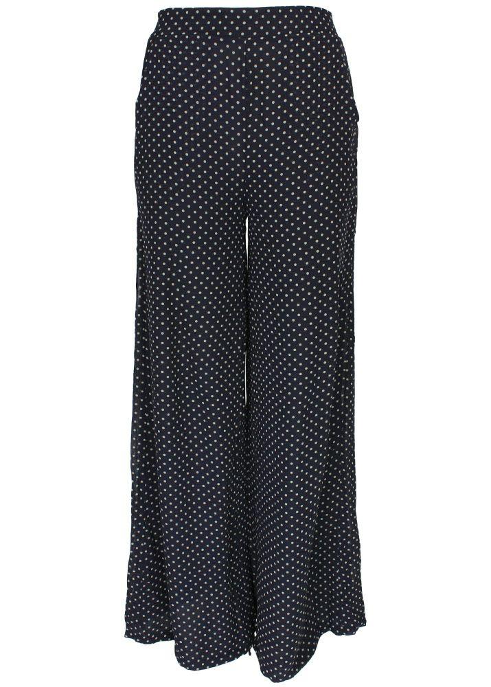 sugarhill boutique hosenrock polka palazzo pants. Black Bedroom Furniture Sets. Home Design Ideas