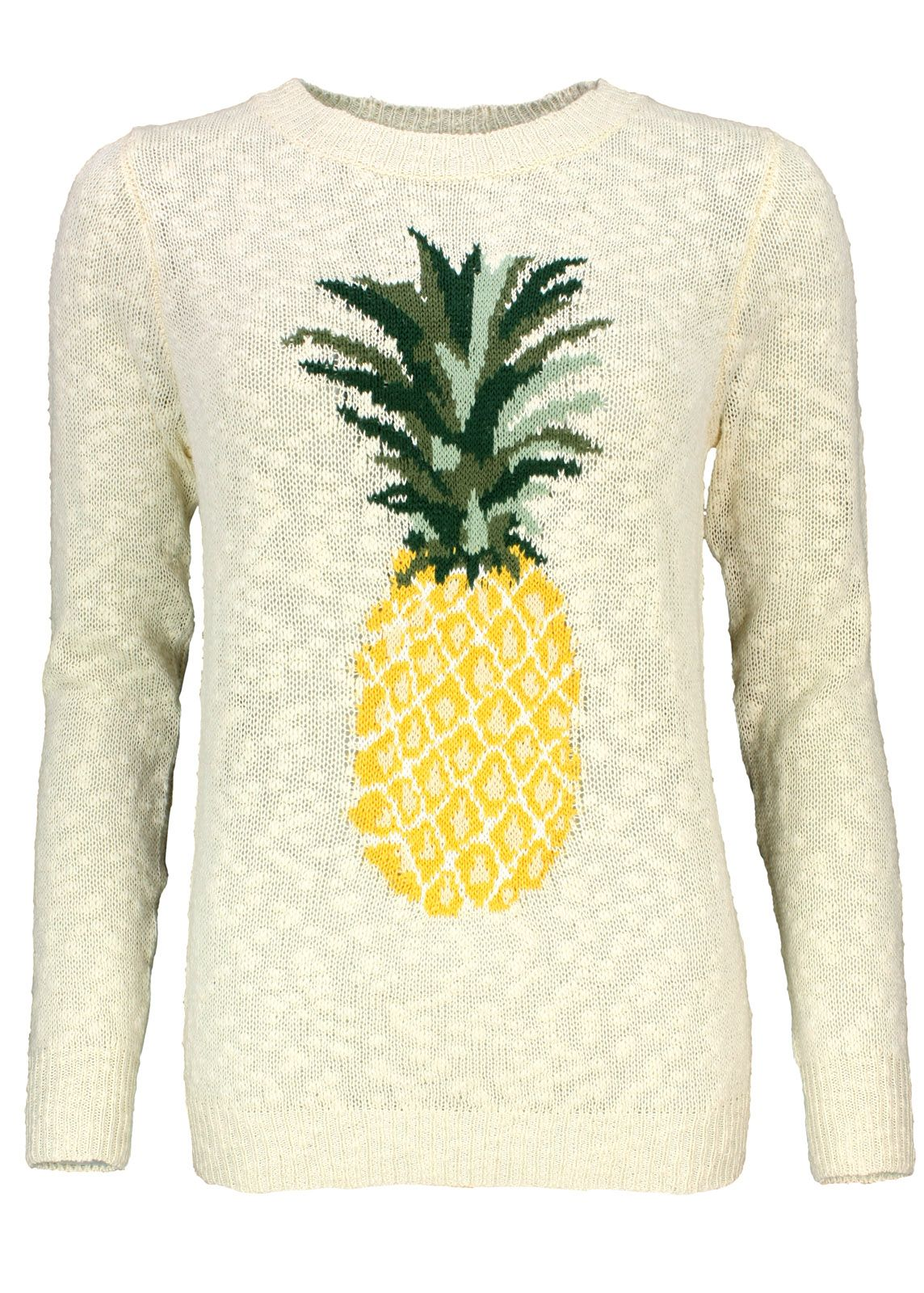 Sugarhill Boutique Pullover Pineapple Sweater