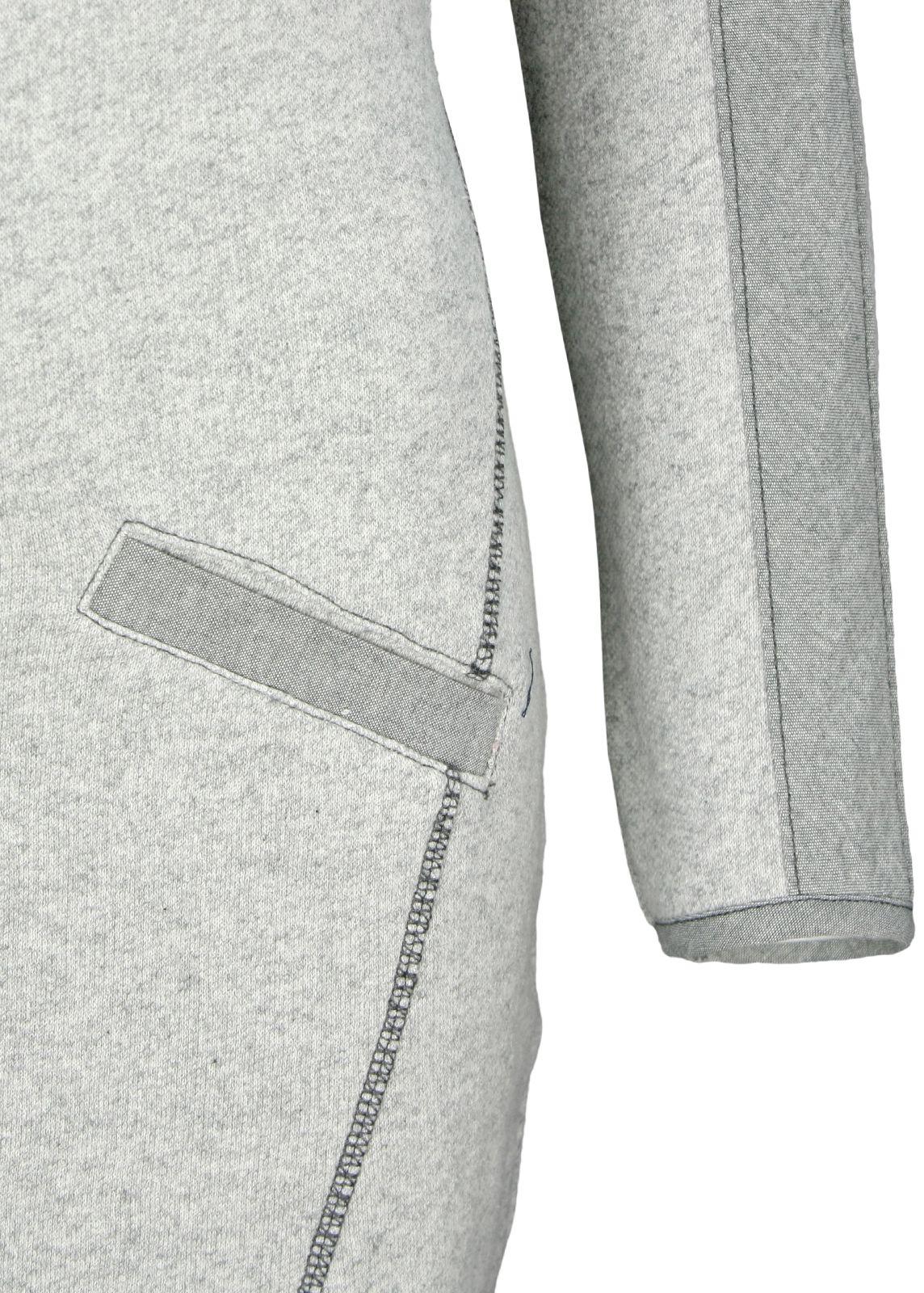 Yaya Kleid Sweat Dress Grau - fettebeute Online Shop