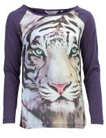 Broadway NYC - Tiger-Shirt Lila