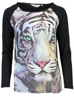 Broadway NYC - Tiger-Shirt Schwarz