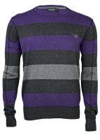 Broadway NYC - Sweater violet stripe