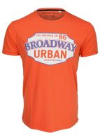 Broadway NYC - T-Shirt sun orange