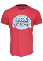 Broadway NYC - T-Shirt dusty red