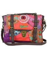Desigual - Maletin Patch Rojo
