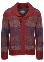 Petrol Industries - Strickjacke Burgundy