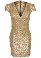 Rare London - Sequin Wrap Dress
