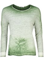 Rich & Royal - Leinen-Longsleeve Botanic Green