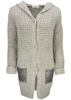 Rich & Royal - Strickjacke Taupe