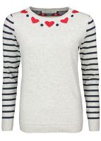 Sugarhill Boutique - Folk Heart Sweater
